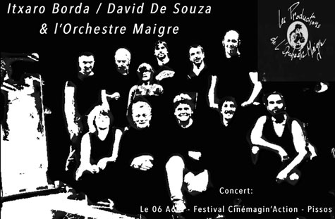 Orchestre maigre au festival cinemaginaction